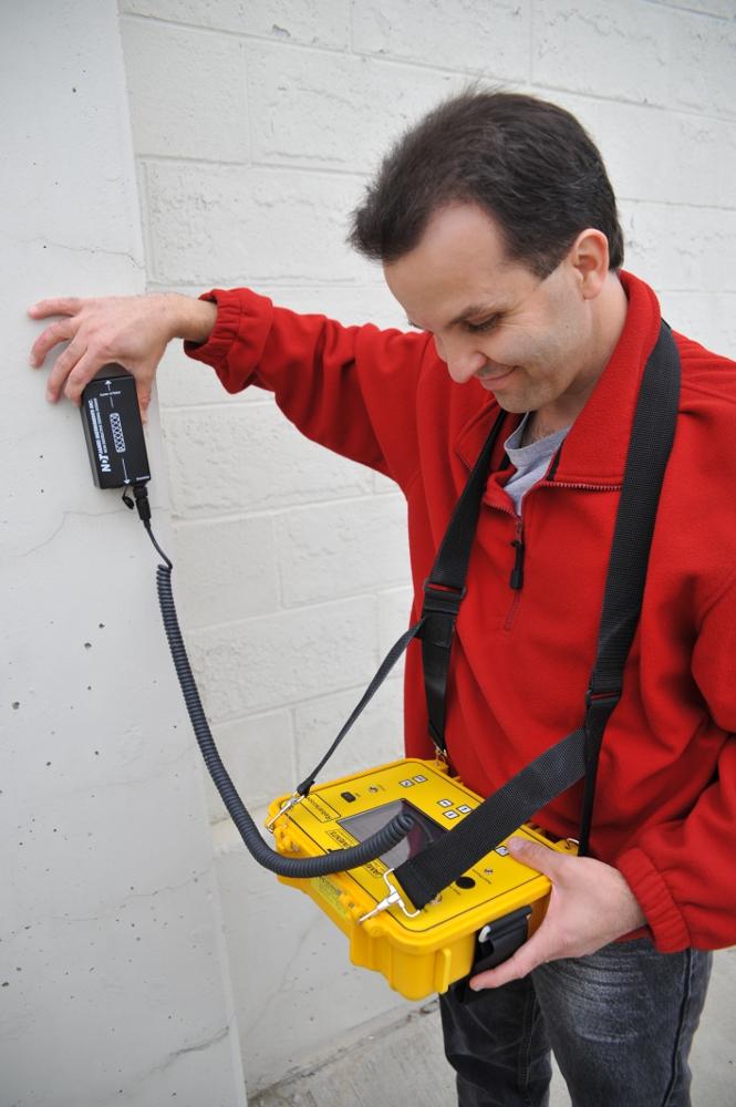 Rebarscope in use